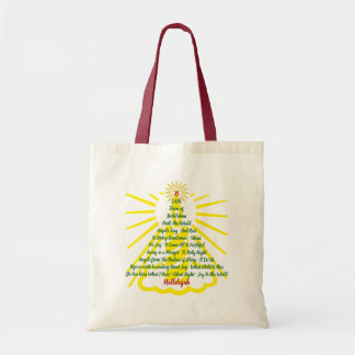 Candlelight Song List Tote Bag