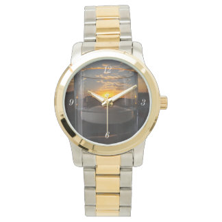Candlelight Sunset Wristwatches
