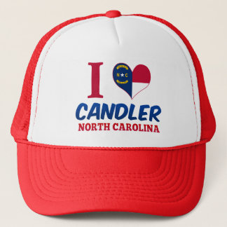 Candler, North Carolina Trucker Hat