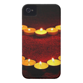 Candles Heart Flame Love Valentine Romance Fire Case-Mate iPhone 4 Cases