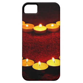 Candles Heart Flame Love Valentine Romance Fire iPhone 5 Case