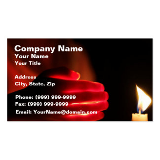 Candles in the Win Business Cards