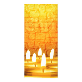 candles rack card