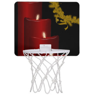Candles,red Mini Basketball Hoop