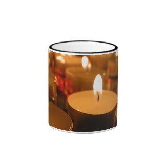 Candles Ringer Mug