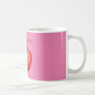Candles Valentine Mug-Pink Coffee Mug