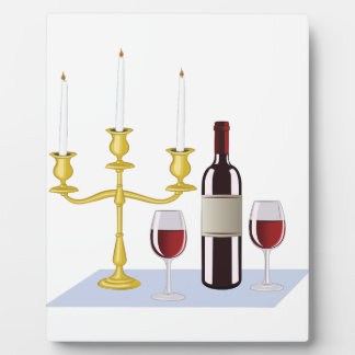 Candles & Wine Plaques