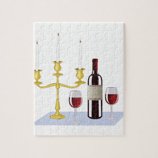 Candles & Wine Puzzles