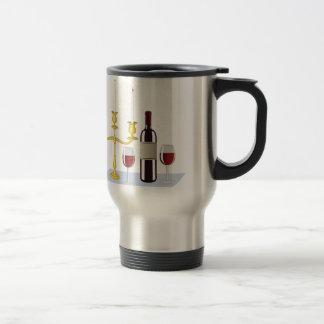 Candles & Wine Travel Mug