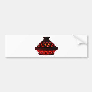 candlestick-tajine bumper sticker