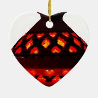 candlestick-tajine ceramic ornament