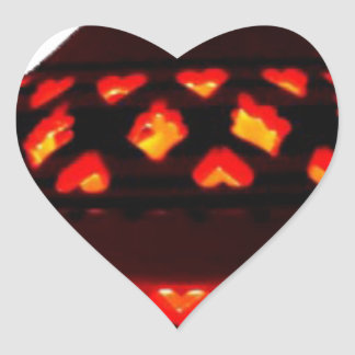 candlestick-tajine heart sticker