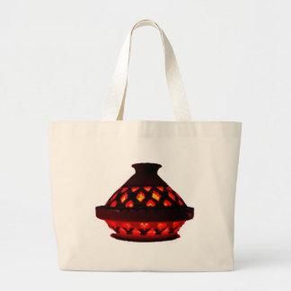 candlestick-tajine large tote bag