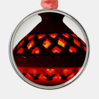 candlestick-tajine metal ornament