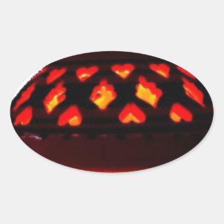 candlestick-tajine oval sticker