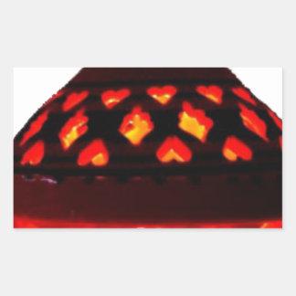 candlestick-tajine rectangular sticker