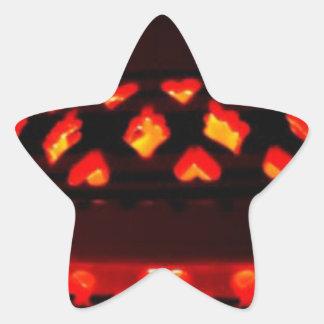 candlestick-tajine star sticker