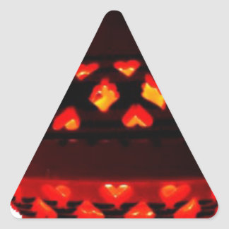 candlestick-tajine triangle sticker