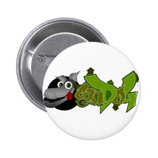 CanDog Pinback Button