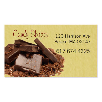 candy address business cards