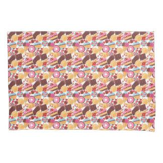 Candy and Pastries Palooza Seamless Pattern Pillowcase