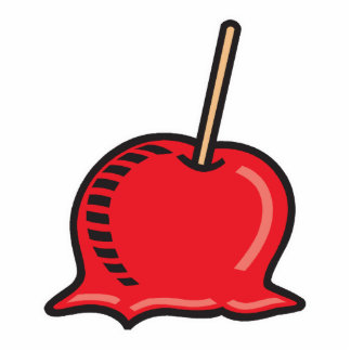 candy apple cut outs