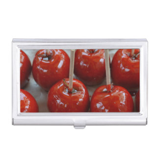 Candy Apples in Fantasyland Business Card Holder