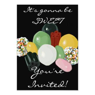 Candy Assortment Invitation