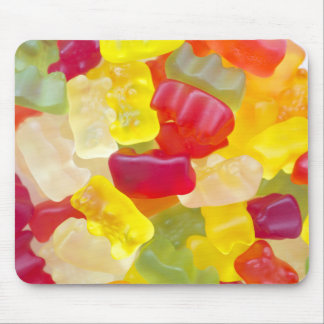 Candy background mouse pad