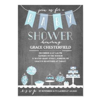 Candy Bar | Baby Shower Invitation
