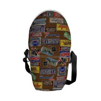 Candy Bars Messenger Bag