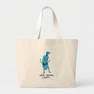 CANDY BLUE CANVAS BAGS
