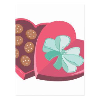Candy Box Postcard