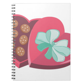 Candy Box Spiral Notebooks
