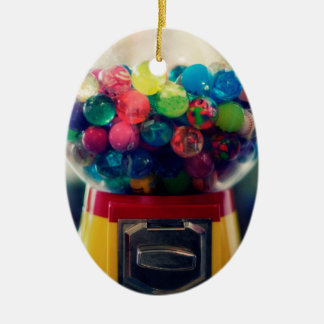 Candy bubblegum toy machine retro ceramic ornament