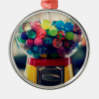 Candy bubblegum toy machine retro metal ornament
