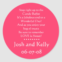Candy Buffet sticker