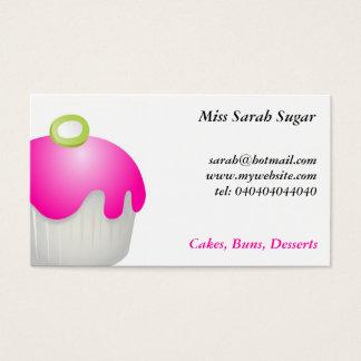 Candy Buns, Miss Sarah Sugar, Business Card