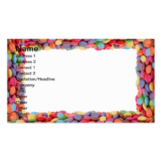Candy Business Pack Of Standard Business Cards