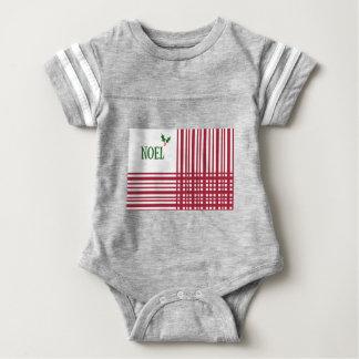 Candy-Cane #10 Baby Bodysuit