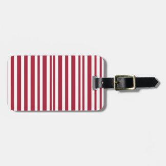 Candy-Cane #11 Luggage Tag