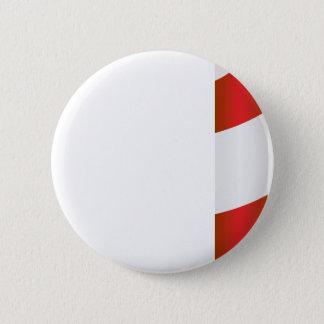 Candy Cane #2 6 Cm Round Badge