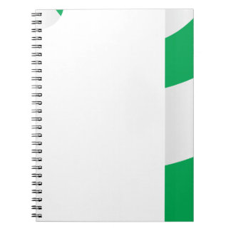 Candy Cane #4 Spiral Notebook