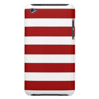 CANDY CANE a Christmas stripe design iPod Touch Case-Mate Case