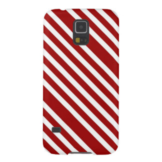 CANDY CANE A Christmas stripe design Galaxy S5 Cases