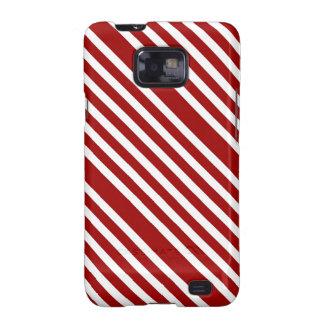 CANDY CANE A Christmas stripe design Galaxy SII Case