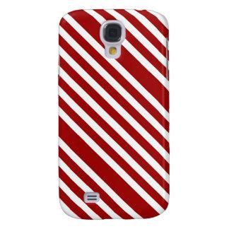 CANDY CANE A Christmas stripe design Samsung Galaxy S4 Cover