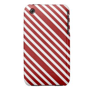 CANDY CANE a Christmas stripe design iPhone3 Case
