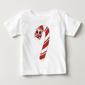 Candy Cane Cartoon Baby T-Shirt