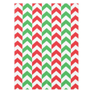Candy Cane Chevrons Tablecloth